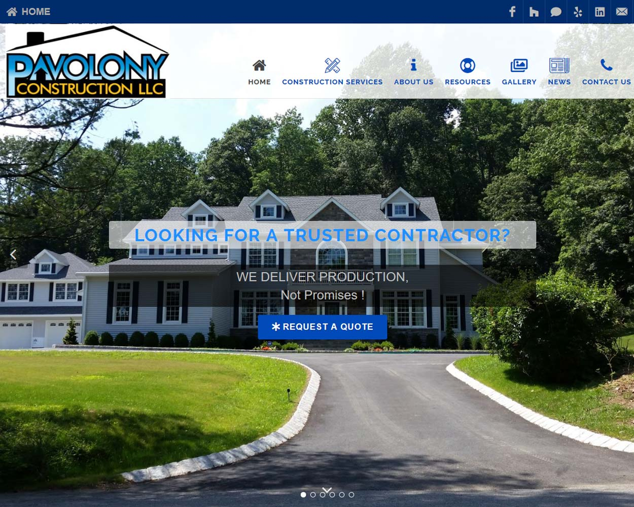 Pavolony Construction Lake Hopatcong NJ