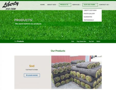 Liberty Sod Farm Product Page