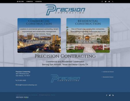 Precision Contracting Commercial Construction Division San Antonio Texas.