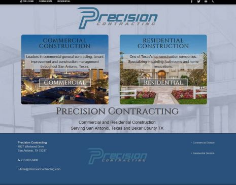 Precision Contracting San Antonio Texas